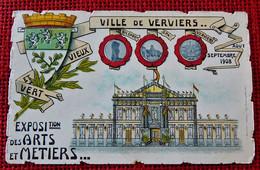 VERVIERS  -  Exposition Des Arts Et Métiers  En 1908 - Verviers