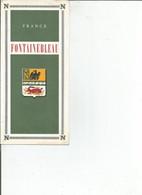 Depliant Fontainebleau - Tourism Brochures