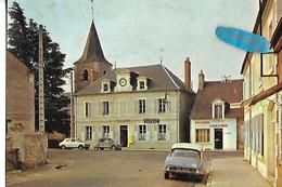 CPSM Véhicule Ancien CITROEN DS 2cv  Boucherie La Poste Tabac NIEVRE Raveau - Passenger Cars