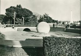 Alte Echtfotokarte - Italien - ROM, FORO ITALICO, Fontana Del Mondo / Quelle Der Welt - Other Monuments & Buildings
