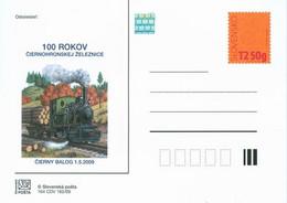 CDV 164 Slovakia 100 Years Of The Railway Of Cierny Balog 2009 - Trenes