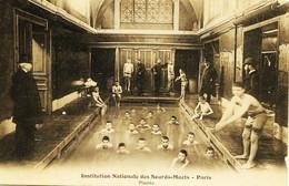12525 - Institution Nationale Des Sourds - Muets  De Paris  :  La Piscine , La Pesée Et La Toise Rare - COGNIN (Savoie) - Bildung, Schulen & Universitäten