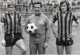 SAN PELLEGRINO - RADUNO INTER - SCALA - HELENIO HERRERA - FEDELE - 1973 Foto Originale Cm 18,00x12,00 - Sport