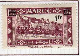 Maroc 1950 Surchargé 1f Sur 1f20YT 296 Neuf Charnieres - Unused Stamps
