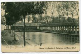 CPA - Carte Postale - Belgique - Mons - Bassin De Natation Au Waux-Hall  (DG15080) - Mons