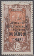 Oubangui-Chari - N° 82 (YT) N° 87 (AM) Oblitéré. - Used Stamps