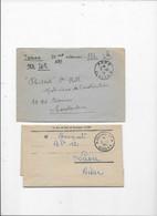 ALGERIE 2 Lettres  Imprimé Et Journaux *PP* ALGER RP 1938 JOURNAUX PP ALGER 1957 - Ohne Zuordnung