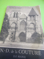 Fascicule Historique/ Notre Dame De La Couture ( Le Mans)/Abbé Henry BRANTHOMME/Aulard/1948                       PGC418 - Unclassified