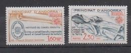 ANDORRE-1982.N°300/301** EUROPA - Ongebruikt