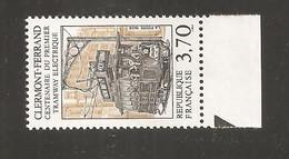 France, 2608, Neuf **, TTB, Centenaire Du 1er Tramway électrique, Clermont-Ferrand - Neufs