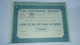 LES RAFFINERIES REUNIES (bessé Sur Braye SARTHE) - Zonder Classificatie