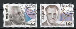 Europa CEPT 1994 Espagne - Spain - Spanien Y&T N°2895 à 2896 - Michel N°3162 à 3163 (o) - 1994
