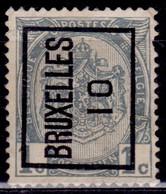 Belgium 1907, Coat Of Arms, 1c, Sc#82, Used - 1893-1907 Coat Of Arms