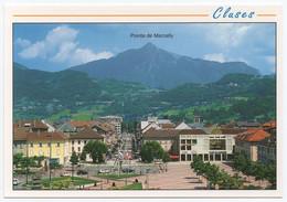 74 CLUSES - Edts Revalp - Vue Générale, En Fond, La Pointe De Marcelly 2000 M. - Other Municipalities