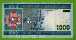 MAURITANIE / 1000 OUGUIYA / 28 NOV 2004 - Mauritania