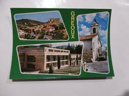 D 04 - Souvenir De Greoux Les Bains - Gréoux-les-Bains