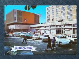 BUGOJNO BOSNA BOSNIA CITROEN DS FIAT OLD CAR Postcards 1960`s (B1) - Bosnia And Herzegovina