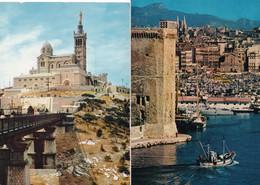 - 13 - Bouches Du Rhône - Marseille- Lot De 2 Cpm  - 1960 --1982 - Otros