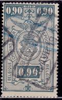 Belgium 1923-40, Parcel Post And Railway, 90c, Sc#Q149, Used - 1923-1941