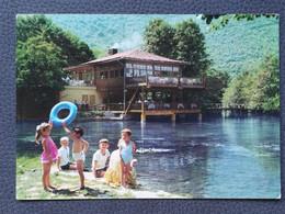 ILIDŽA VRELO BOSNE RIVER BOSNA AT ILIDŽA CHILDREN BOSNA BOSNIA  Postcards 1960`s (B1) - Bosnia And Herzegovina