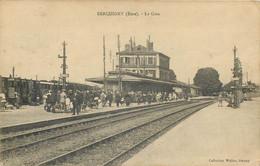 27 - SERQUIGNY - La Gare - Serquigny