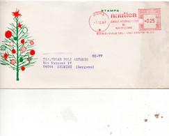 NAUTICA MENSILE INTER. DI NAVIGAZIONE 1967 - TIMBRO MECCANICO ROSSO SU BUSTA - 1946-60: Poststempel