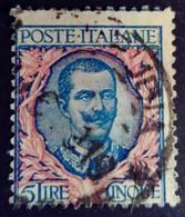 Italie Italy Italia 1901 Victor Emmanuel III Yvert 74 O Used Usato - Usados