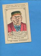 Farine Mexicaine Benito Des Rio Tarare ? Chromo Image Devinette Homme Concierge  Lisant Le Petit Journal Singe Chien - Altri
