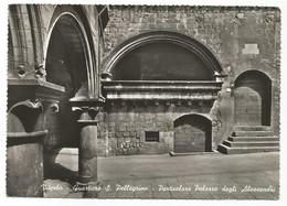 E3859 Viterbo - Quartiere Di San Pellegrino - Particolare Palazzo Degli Alessandri / Non Viaggiata - Viterbo