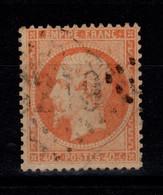 YV 23 Oblitere, Pas Aminci, TTB Cote 15 Euros - 1862 Napoleon III