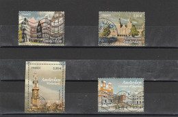 FRANCE 2016 CAPITALES EUROPEENNES- AMSTERDAM OBLITERE YT 5090 A 5093 - - Used Stamps
