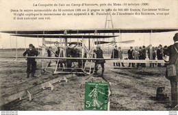 D72  LE MANS  La Conquête De L' Air Au Camp D' Auvours, Près Du Mans   ...... - Le Mans