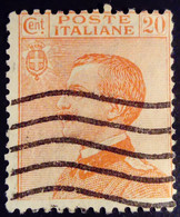 Italie Italy Italia 1923 Victor Emmanuel III Yvert 143 O Used Usato - Usados