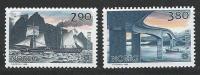 Norvège 1988 N°952/953 Neufs**  Europa Transports Et Communications - Nuovi