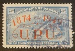 PANAMA YT 272E OBLITÉRÉ  ANNÉE 1949 - Panama