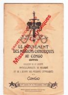 CONGO BELGE - Bulletin De La Société Antiesclavagiste Des Missions Catholiques N°11/ 1905 - Esclavage, Mission, Religion - Politique