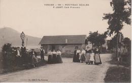 88 - NOUVEAU SAALES - CAFE FRANCAIS - P. LUQUET - Autres Communes