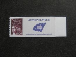 RARE Et TB  N° 3729CA: 1,90€ Au Lieu De 1,11€ , Neuf XX. Vignette Astrophilatélie . - Sellos Personalizados