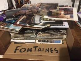 FONTAINE Fontaines  Fountain Fountains >  Lot En Vrac > - LOT De 265 Cartes  - Cpm Et Cpsm = Voir Descriptif - 100 - 499 Postkaarten