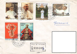 VATICAN - COLLECTION 25 COVERS, CARDS /GA34 - Sammlungen