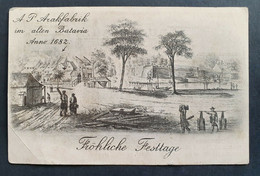 Niederlande 1912, Postkarte BATAVIA JAVA - Non Classificati