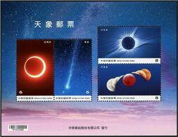Taiwan (2020) - Block - /  Astronomia - Astronomie - Astronomy - Space - Astronomy