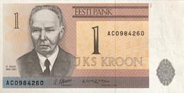Estonia 1 Kroon, P-69 (1992) - UNC - Estonia