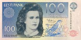 Estonia 100 Krooni, P-74a (1991) - UNC - Estonia