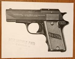 1940  FOTOGRAFIA  PHOTO VOLANTINO PUBBLICITARIE ARMI LEPAGE LIEGE BELGIQUE - Werbung