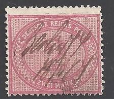 Deutsches Reich Michel Nummer 37b Federzugentwertung - Used Stamps