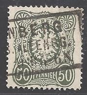 Deutsches Reich Michel Nummer 38 Gestempelt - Used Stamps