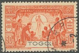 Togo Mandat Français - N° 163 (YT) N° 94 (AM) Oblitéré. - Used Stamps
