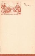 Menu  Pub SYLVAIN MAINFRAY - SAUMUR - Menükarten