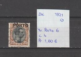 Denemarken 1921 - Yv. Porto 6 - Mi. Porto 6 Gestempeld/oblitéré/used - Port Dû (Taxe)